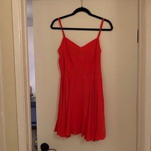 Cute lil red aritiza mini dress!
